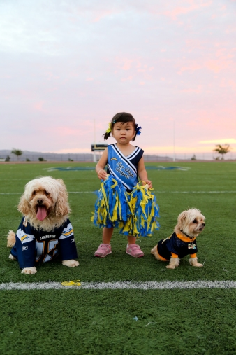 Chargers girl